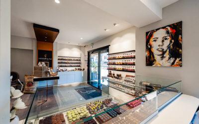 Agencement de chocolaterie en Île-de-France
