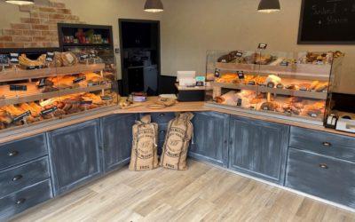 Agencement de boulangerie à Paris